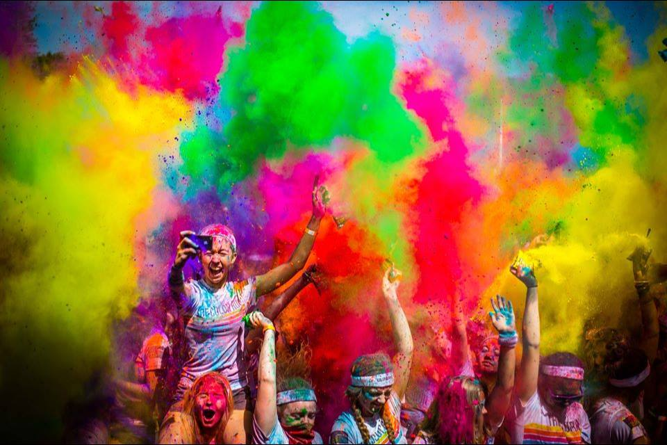do a color run