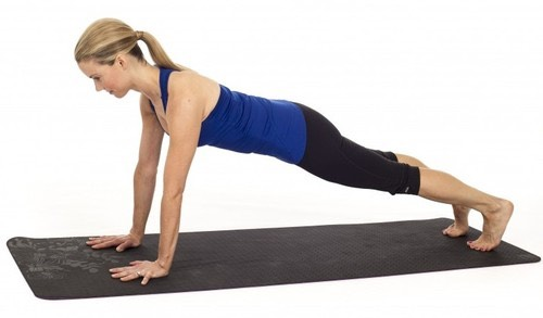 1 minute plank