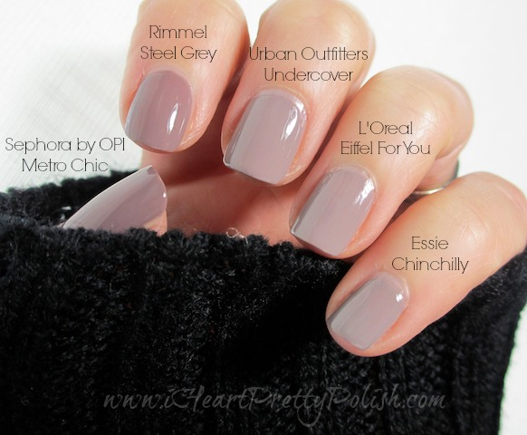 Essie S Chinchilly Dupes A Great Color For The Winter Months Or Just Something More