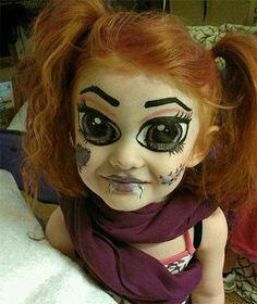 easy makeup for ur children