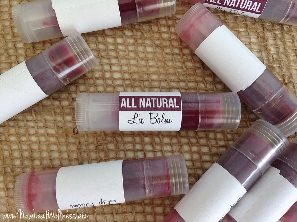 An all-natural lip balm with a hint of color. This homemade naturally tinted lip balm is moisturizing, smells great, and is so easy to make!  For the original blogpost:  VISIT |http://newleafwellness.biz/2014/03/12/homemade-naturally-tinted-lip-balm/
