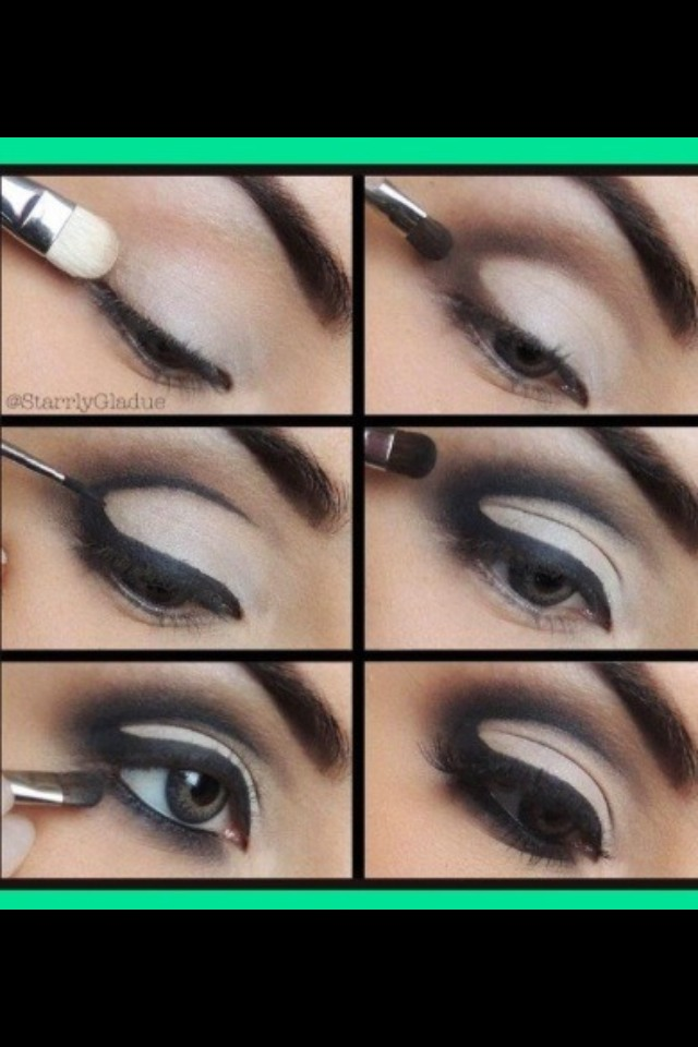Using liquid eyeliner wouldn't work as well as stick eyeliner, make sure you blend with a color you would your crease to be!