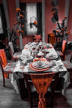 Wrap chairs for adinner partyto add grandeur tothe menu.