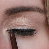 10. A smudge brush can transform a not-so-perfect eyeliner application.