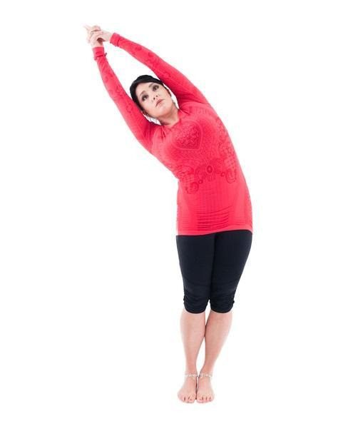 10 reps. side bends