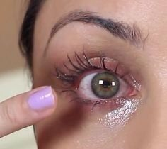 Your eyes will look like this until the Morning when it drys off and u will have long eye lashes