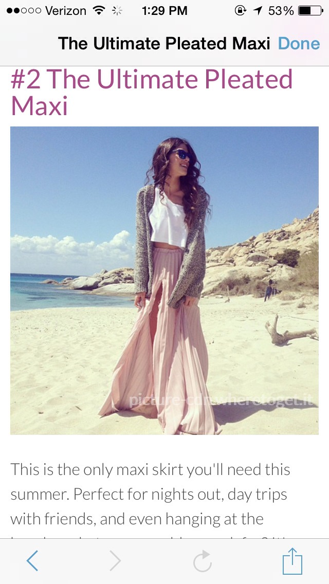The Ultimate Pleated Maxi