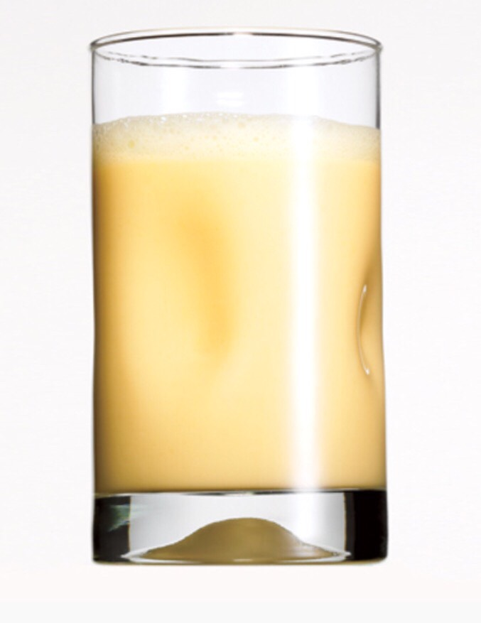 """Pineapple Passion   - Serves 1 person 1 c low fat or light vanilla yogurt 6 ice cubes 1 c pineapple chunks   1. Blend yogurt, ice cubes. 2. Add pineapple and blend at """"whip"""" until smooth."""