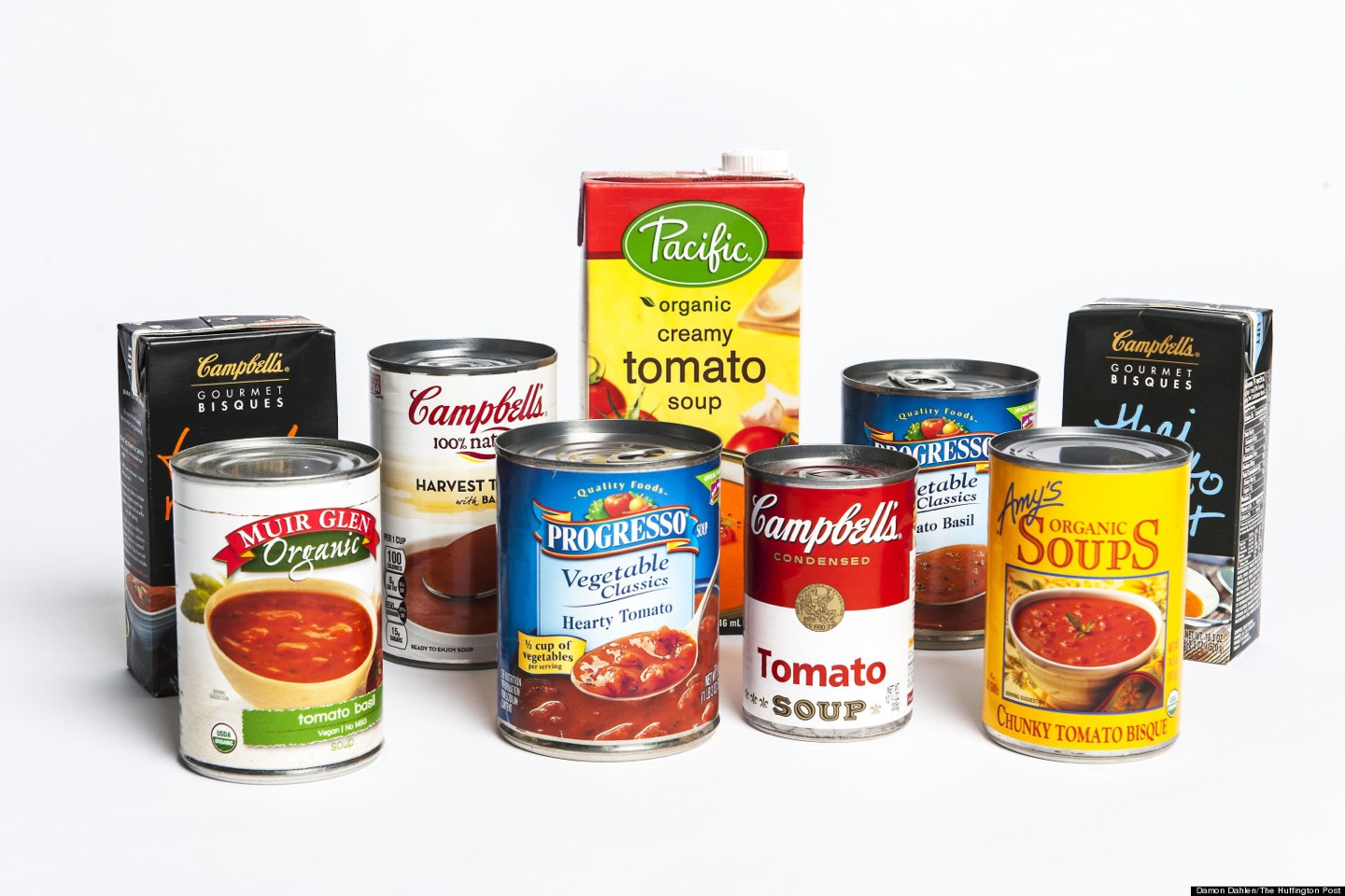 Canned Soup You've heard about canned soups being high in sodium,but did you know it's also filled with sweet stuff?Sugar is added as a preservative to many canned soups and you can find up to 15 grams of sugar per 1.5 cups in certain varieties check the labels before buying