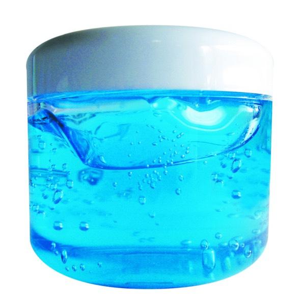 A dab of gel