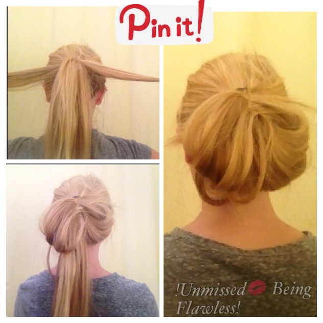 ✨Chignon Hairstyles can be VERY difficult to achieve-especially for girls with thick hair 😞 But, with THIS technique, you can have a hairstyle that looks just like a messy Chignon, and get the look faster and easier!!!!Enjoy this tutorial!(I created a summarized version above so you can snapshot)✨