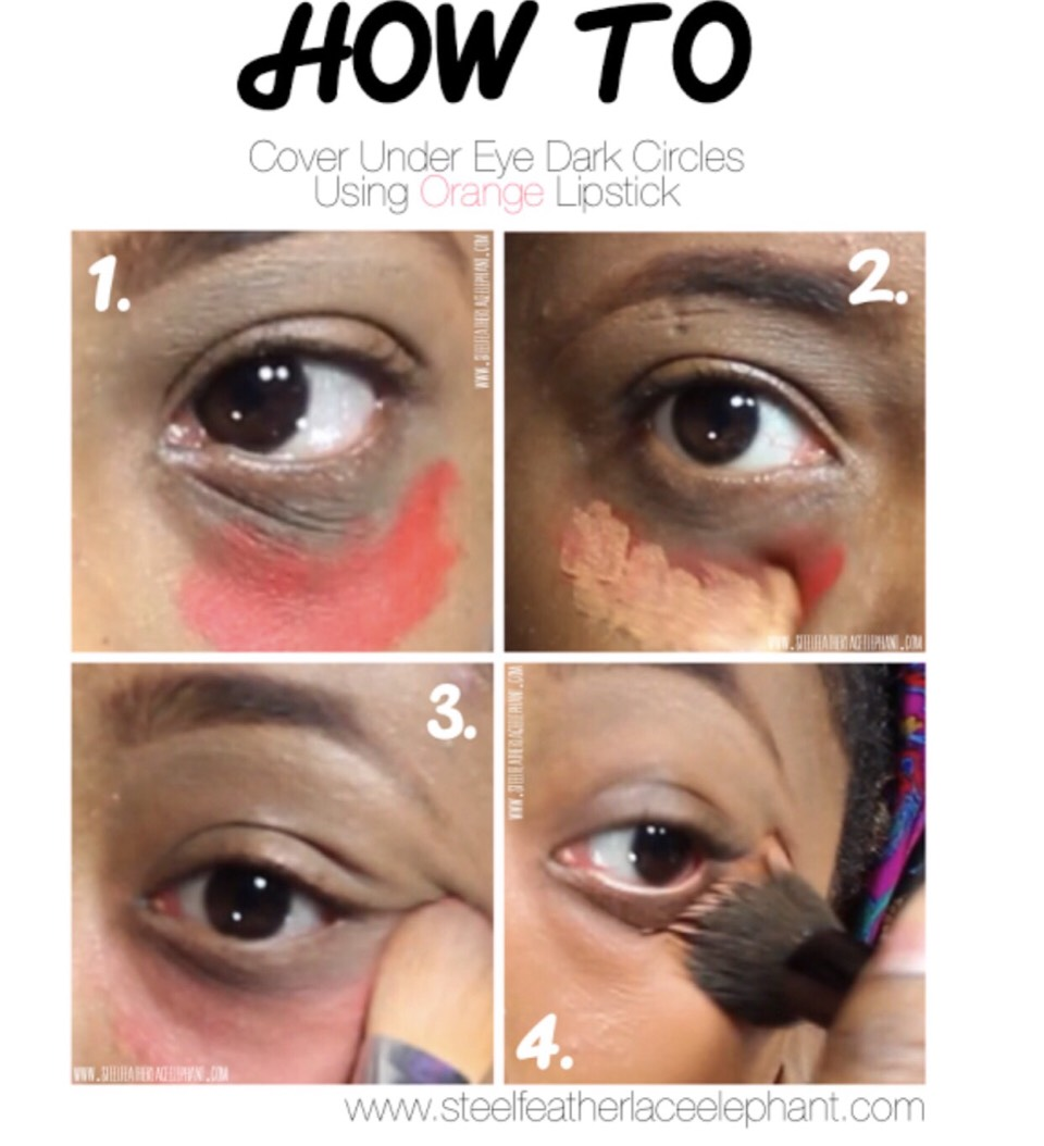 Dab your concealer on and precede to apply foundation and concealer as normal!