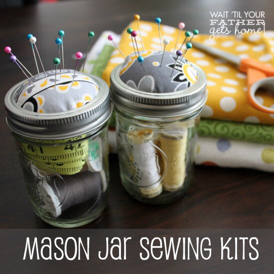 Another version of a simple sewing kit.