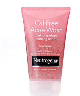 Exfoliate! This step helps to clean skin, as well as clear away dead skin cells that have built up. I recommend Neutrogena as they are cheap but works well. You should exfoliate 3-4 days/week for oily skin. Less for sensitive skin.