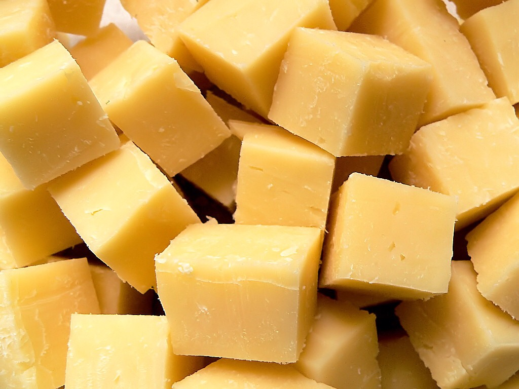 4. Don't forget about cheese! Remember when your mom would pack you string cheese in your lunchbox? Cheese is a great way to get more calcium from your diet, and having a small amount every day will keep you from overindulging in a cheese platter.