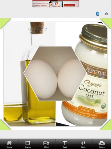 All you will need is: Olive oil, 2 eggs, and coconut oil! 🙆