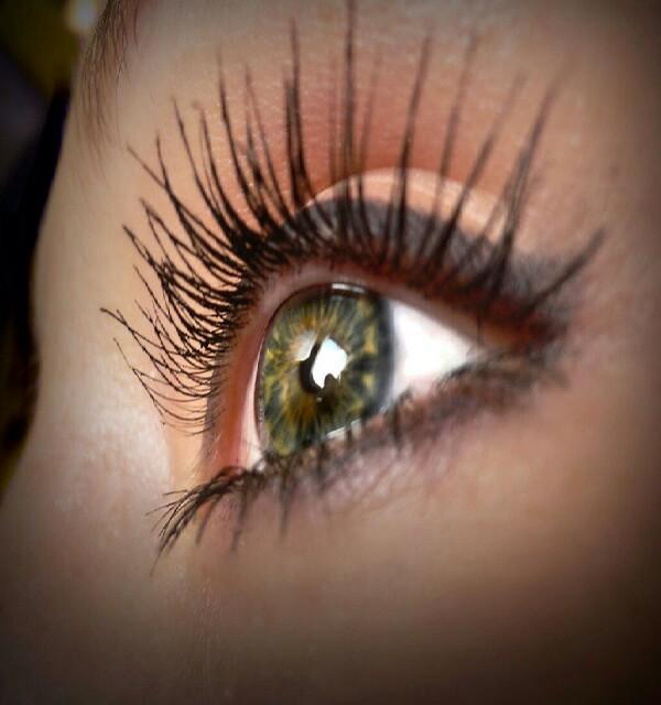 put vaseline of your eyelashes before you sleep! helps them grow!