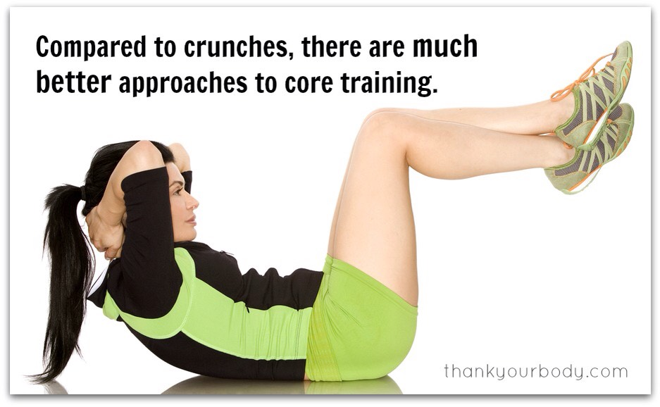 60 counts of crunches
