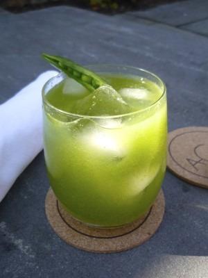 http://www.hgtvgardens.com/recipes/a-sugar-snap-pea-cocktail