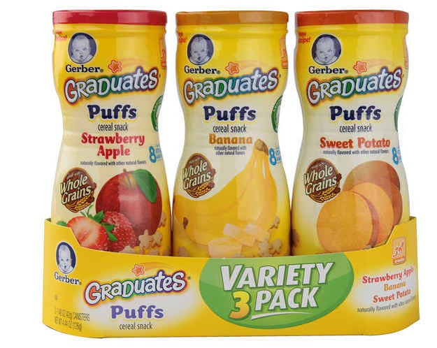 8. Puffs make for a delicious low calorie snack. There are only 25 calories in half a cup of these!