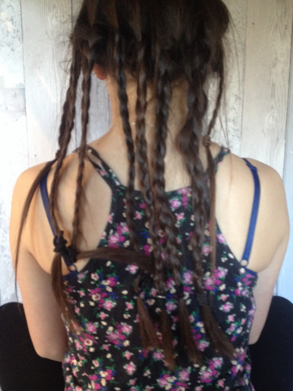 Put your hair into 8 plaits and sleep on them over night