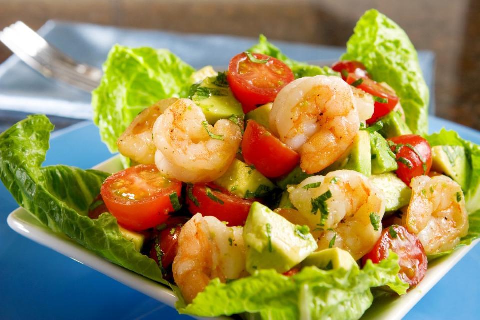 15. Avocado-Shrimp Salad