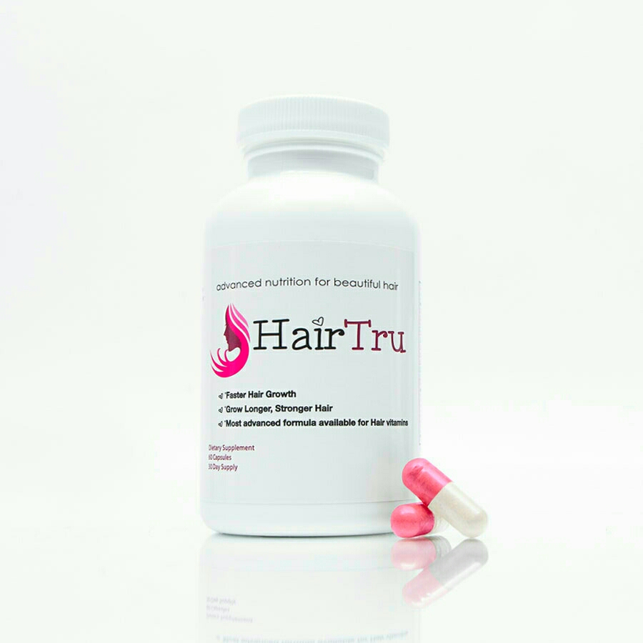 Ever hear of HairTru vitamins? Well now you have and in just one week it's made my hair healthier, stronger, and longer!