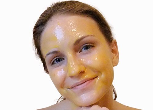 Hey wait! Get the yolk and rub it on your face then try the smiling tip again.
