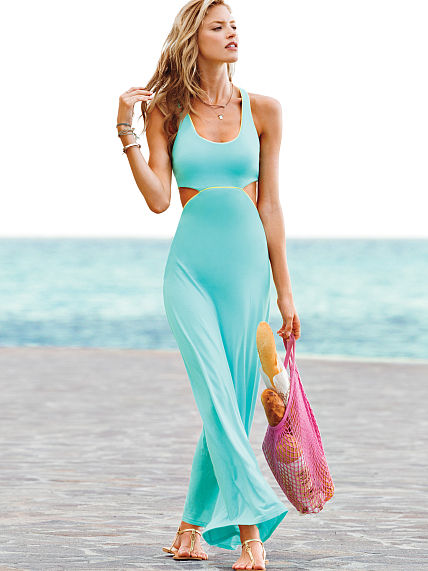 Victoria secret beach inspired dress - Musely