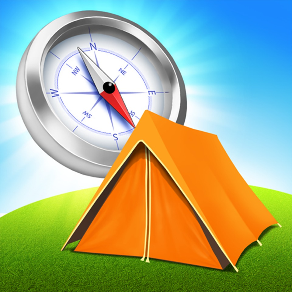 12) AN APP THAT REMEMBERS YOUR TENT LOCATION! Find my tent app is great because it saves your tent longitude and latitude. When you get lost this is great for helping you find your way back!!