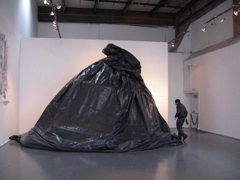 World's biggest trash bag