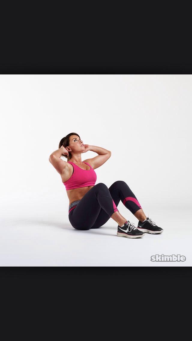 20 sit ups