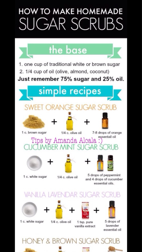 You can substitute oils for whichever scents you like.    If you save it please dont forget to like/share it! TIA 😊