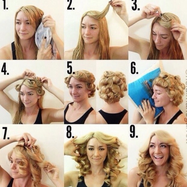 Pin/Clip Curls!