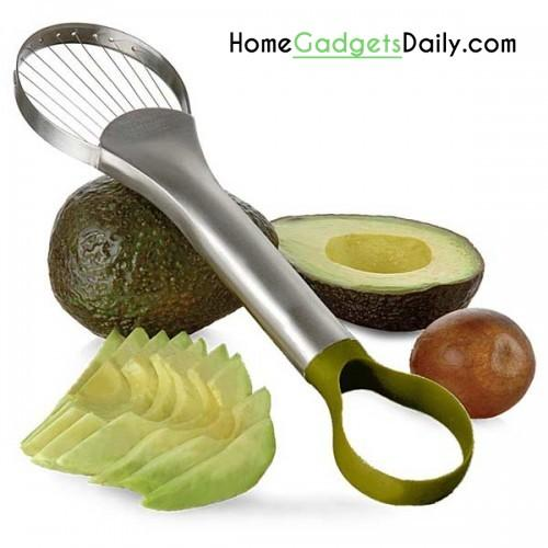 Avocado Slicer and Pitter Link: http://homegadgetsdaily.com/avocado-slicer-and-pitter/