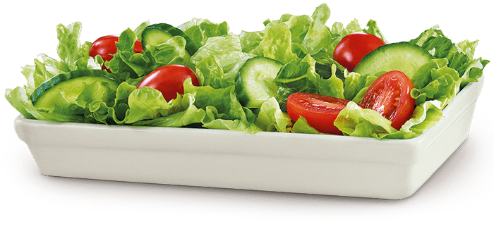 this is a very bland and boring salad 😷... it doesn't necessarily have to be this way!