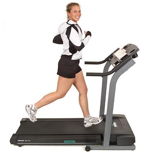 Run the treadmill for 10-15 minutes