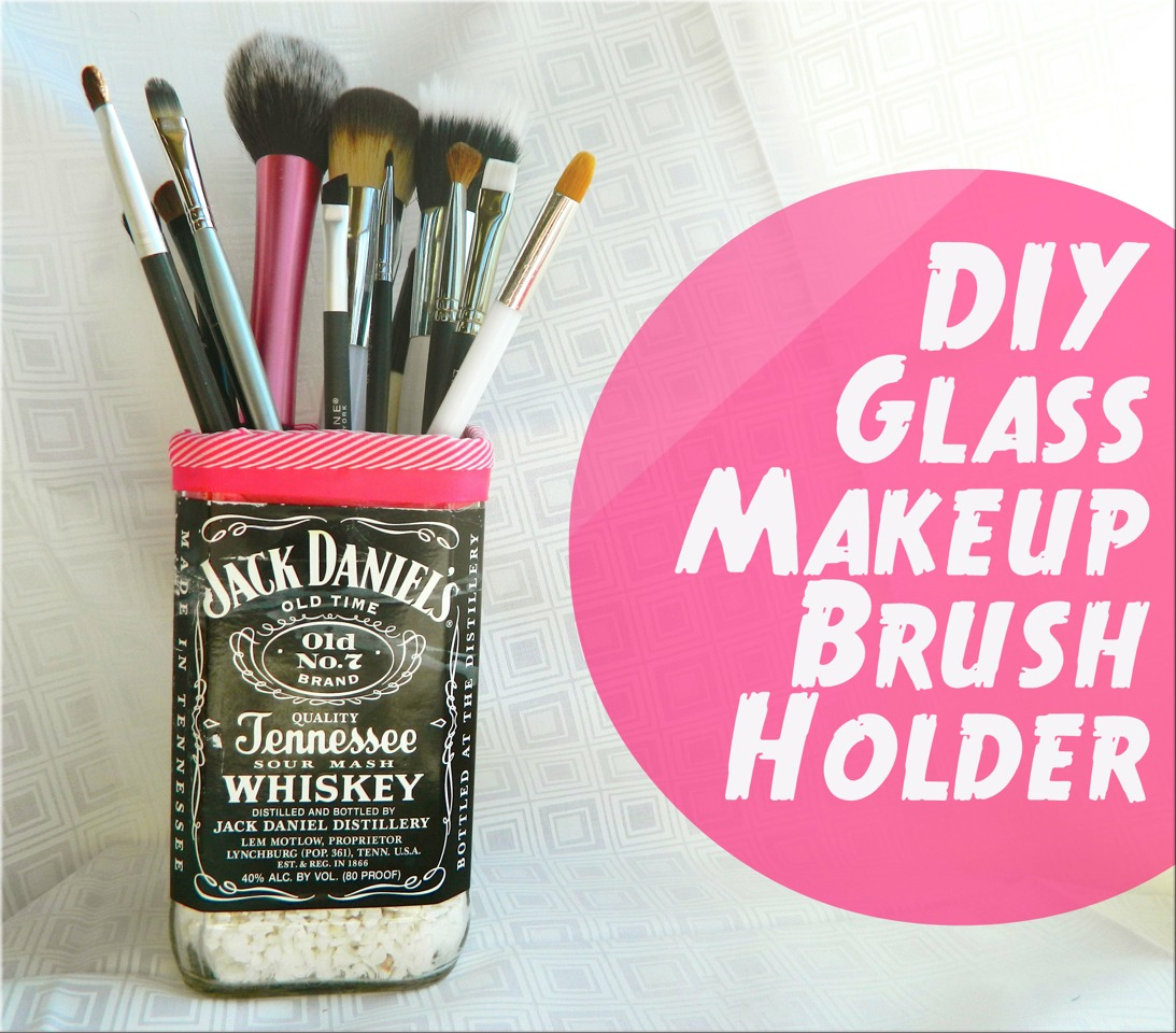 💟🌸Diy Makeup Brush Holder,Candle,Vase, Cup Ext. Out Of Glass Bottles..How 2 Cut Glass Tutorial🌸💟