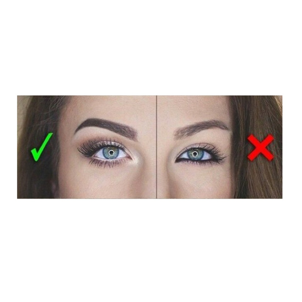 Tip 1: White Eyeliner  Using white eyeliner on your waterline can make your eyes appear larger