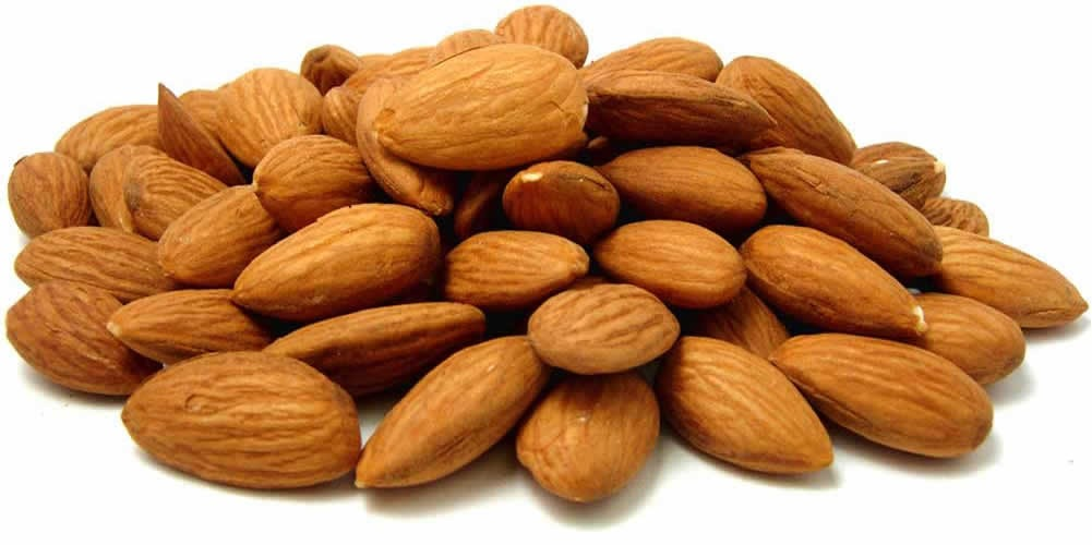 Almonds have antioxidants and are very filling, good for snacking throughout the day and reducing cravings!