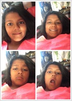 Take a load of random selfies!!