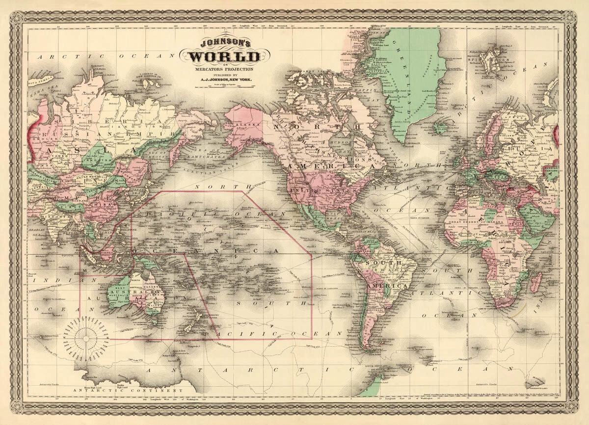 Vintage wall map Great to way to fill an empty space on the wall creat the vintage space you always wanted