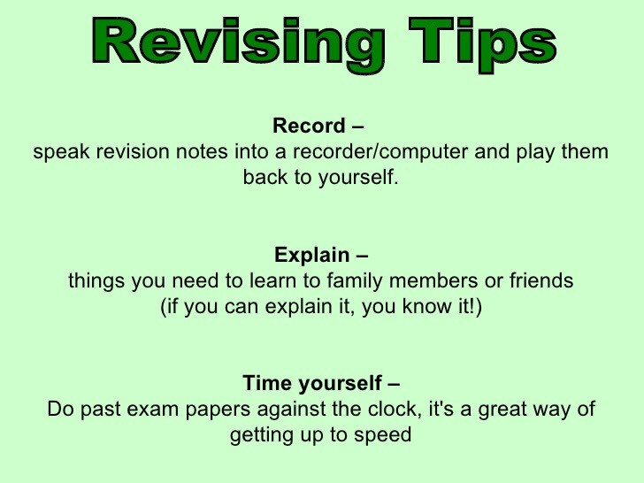 revising research paper Revision process: improving the strength of your paper do not try to barge through your research paper during the revision process to fix everything at once.