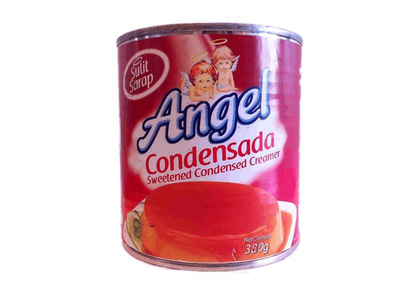 """2. Angel Condensed Milk - Any other Condensed Milk will work too . You can use """"Alaska Condensed Milk"""" or any other brands, as long as it is Condensed Milk. :-)"""