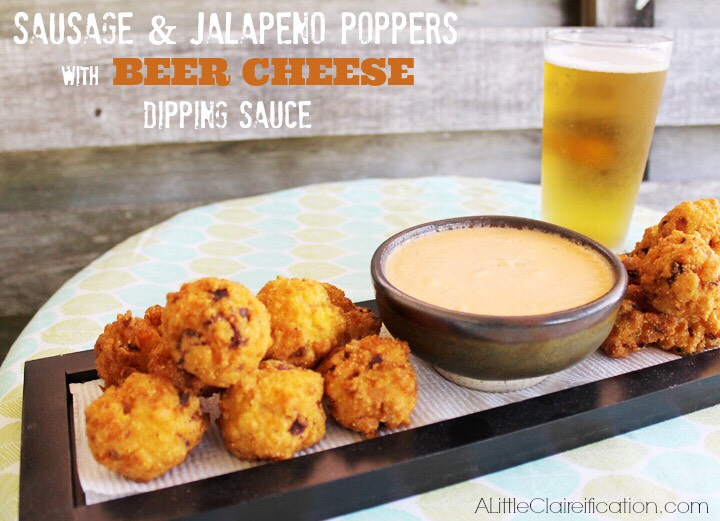 http://alittleclaireification.com/2013/12/30/sausage-jalapeno-poppers-with-beer-cheese-dipping-sauce-new-years-eve-party-food/
