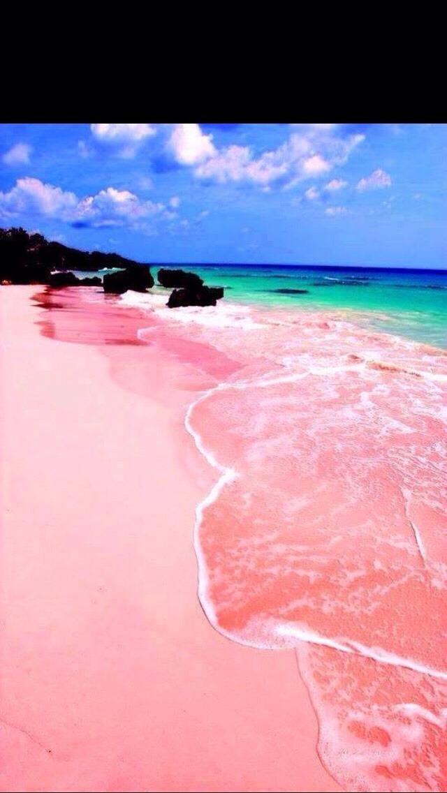 Pink Beaches 😍