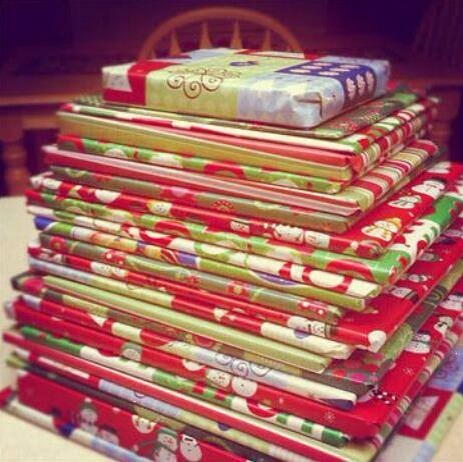 Unwrap one book every night till Christmas.