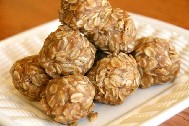 Plain Peanut Butter Oat Balls