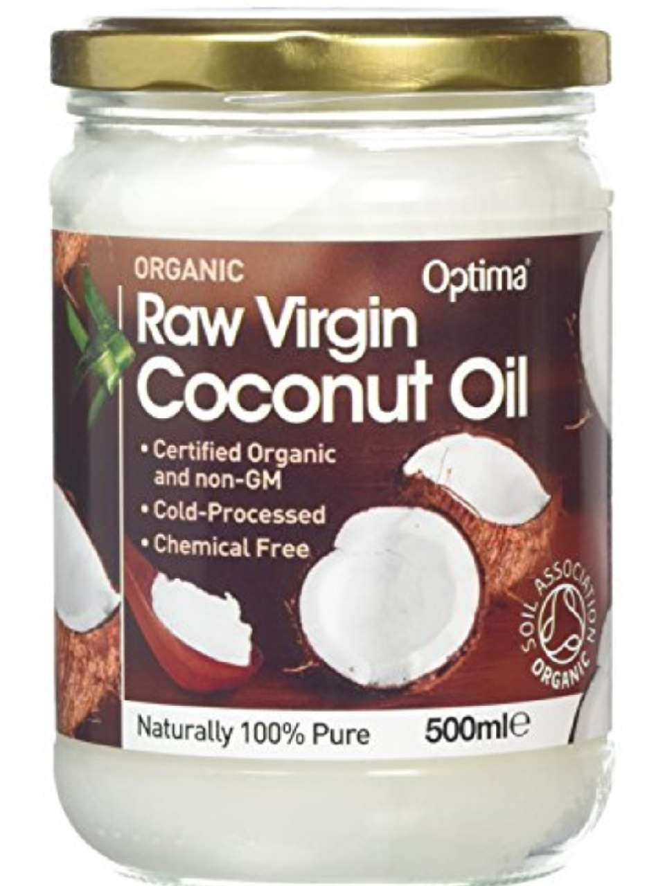 Add about a tablespoon of coconut oil and mix them together.