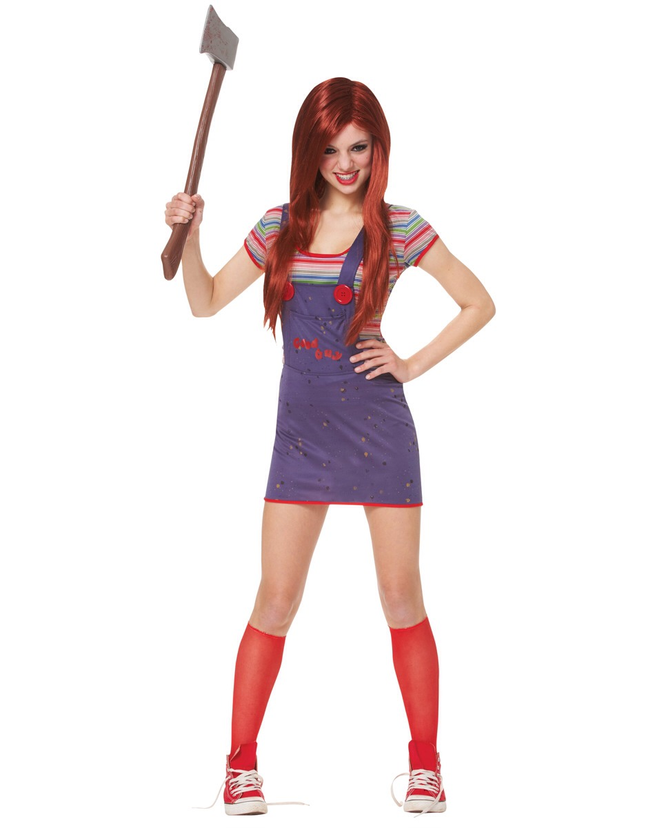 Want something creepy? Be Chucky or the girl version of Chucky.
